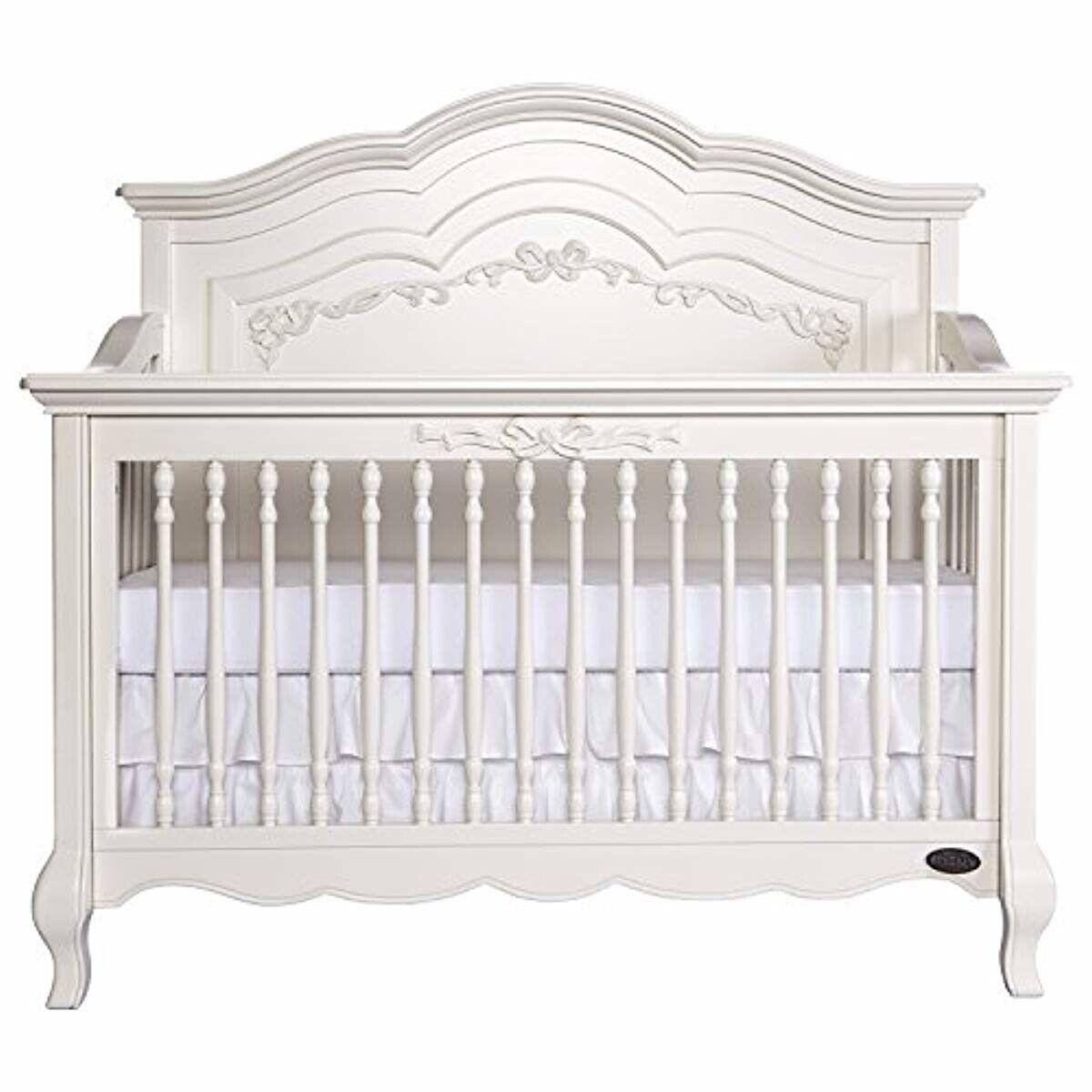 Evolur Aurora 5 in 1 Convertible Crib Ivory Lace Beautiful s