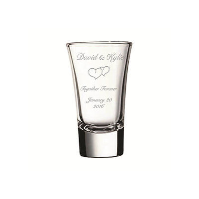 Shot glasses,Engraved shot glasses,custom shot glasses,Wedding Shot Glasses