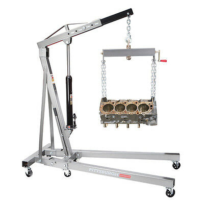 1 ton engine motor hoist cherry picker shop crane lift for Motor lift for sale
