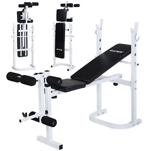 Costway Olympic Folding Weight Bench Incline Lift Workout Training Press Home