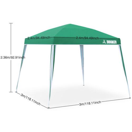 3mx3m Gazebo Tent Top Canopy Pop-up Instant Sunshade Patio O