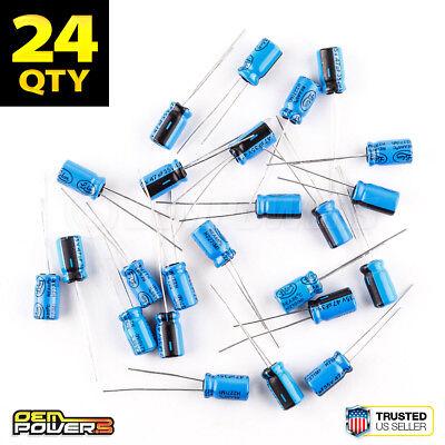 24 X Lelon 47ufmfd 35v 20 85c Radial-lead Electrolytic Capacitor 2721027 New