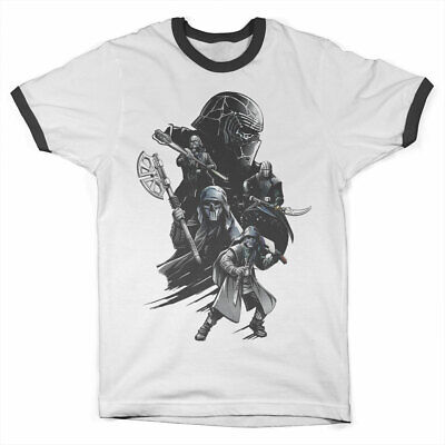 Officially Licensed Star Wars IX - Knights Ringer T-Shirt S-XXL Sizes