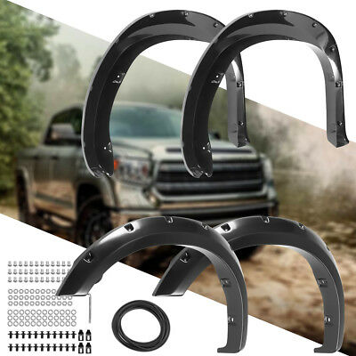 Fender Flares Guard (Fender Flares Car Front Rear Wheel Cover Body Guard For 2007-2013 Toyota)