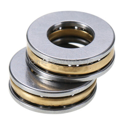 5pcs Axial Ball Thrust Bearing Thrust Needle Roller Bearing 8165mm F8-16m