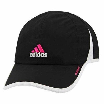Womens Adidas Climacool Hat Baseball Cap Adjustable Golf Running UPF 50 BLK New