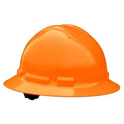 Radians Full Brim Hard Hat With 6 Point Ratchet Suspension Hi-vis Orange