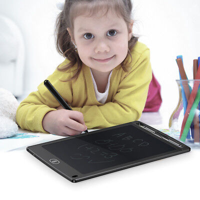 LCD Writing Tablet e-Writer Drawing Memo Message Boogie Board 8.5 Inch + Stylus