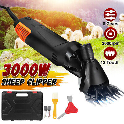 3000w Sheep Goat Shears Clippers Electric Animal Shave Grooming Farm Supplies W