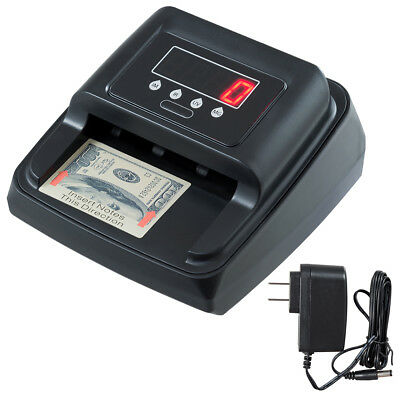 Automatic Counterfeit Bill Detector Money Counter Detection For Us Currency New
