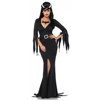 Vampire Costume Adult Morticia Addams Halloween Fancy - Morticia Addams Dress Costume