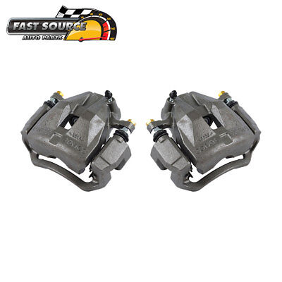 Front OE Brake Caliper Pair For 2005 2006 2007 2008 2009 - 2015 Toyota Tacoma