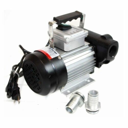 Self Prime 110V AC 16GPM Oil Transfer Pump Fuel Diesel Kerosene Biodiesel Pumps