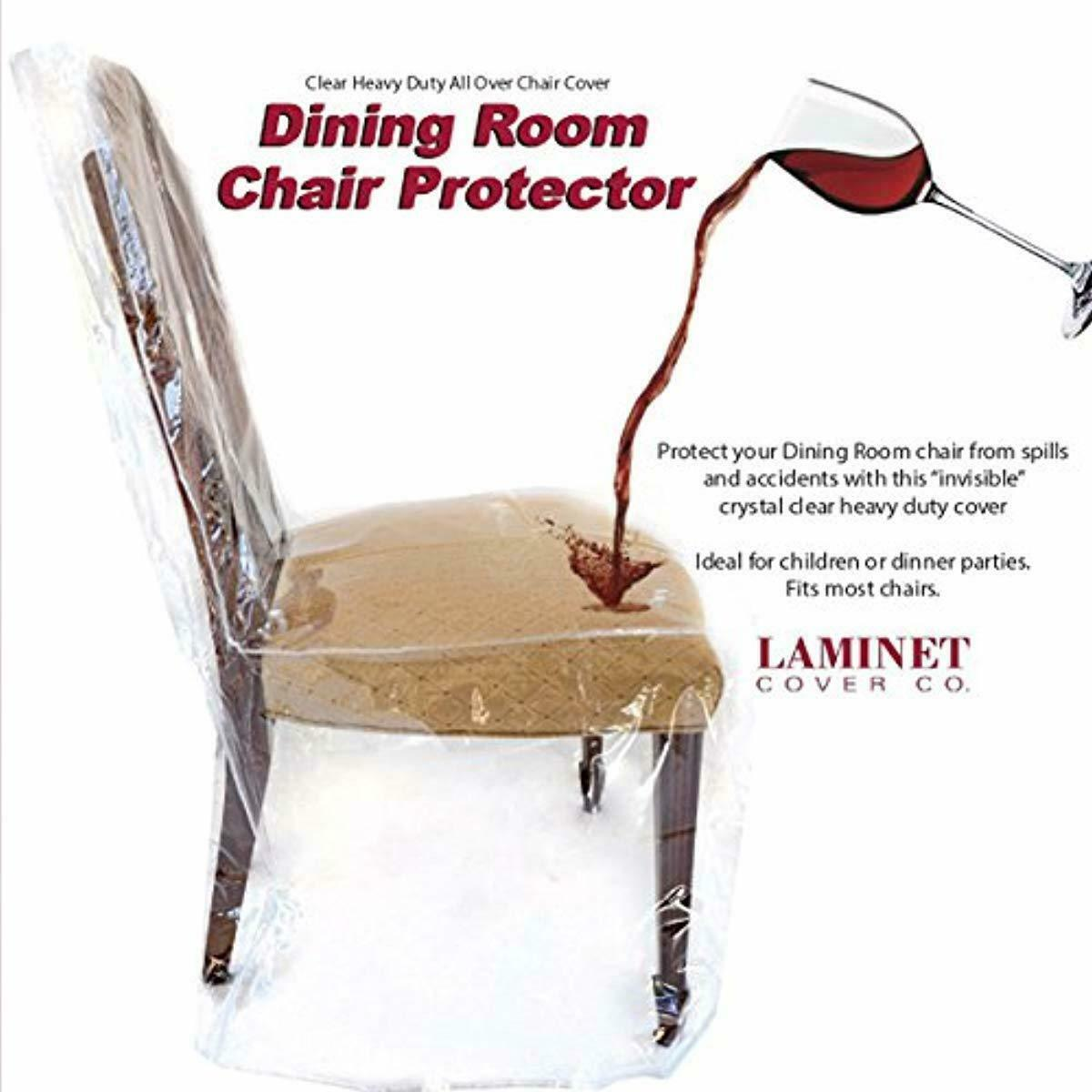 Plastic Cover For Dining Room Chairs, How To Cover Dining Room Chairs With Plastic