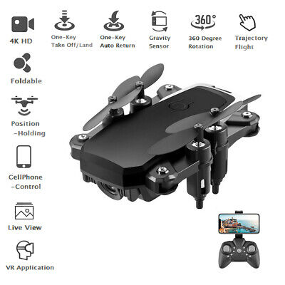 RC Drone Quadcopter With 5MP HD 4K Camera WIFI 6-Axis Foldable Altitude Hold