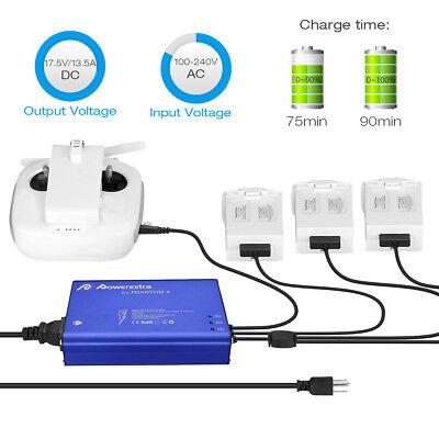 5 in 1 Multi Rapid Intelligent Flight Battery Charger Hub for DJI Phantom 4 Pro