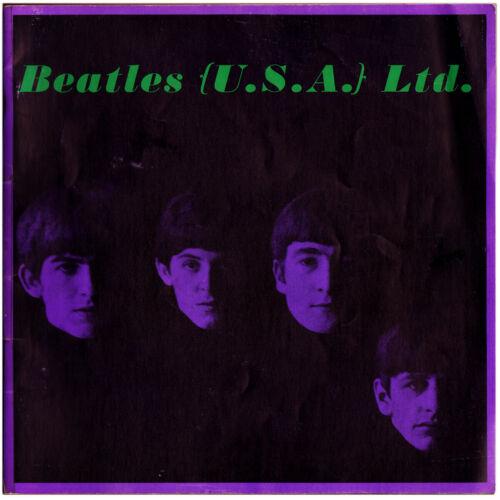 Vintage BEATLES LTD. USA TOUR BOOK TOUR BOOK (1964) Nice condition!!!
