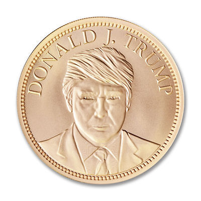 Donald Trump 2 oz copper coin Make America Great Again