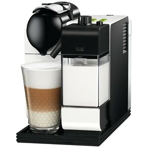 NESPRESSO DeLonghi Lattissima+ Plus EN520 *WHITE* Coffee Machine NEW Melb Pickup