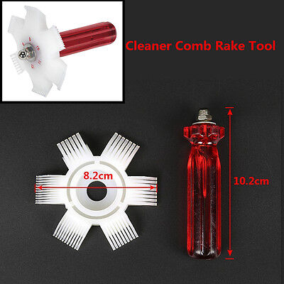 1pcs Car Body A/C Air Condenser Radiator Fin Straightener Cleaner Comb Rake Tool