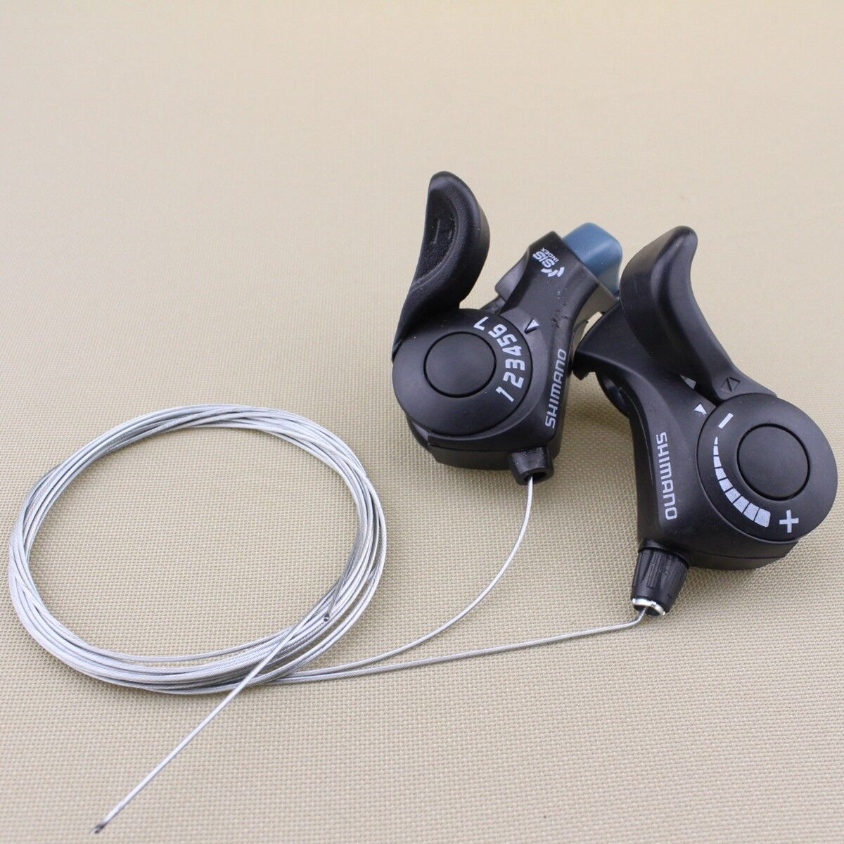 NEW Shimano Tourney Shifter SL-TX30 3x7Speed Index SiS Thumb Shifters with Cable