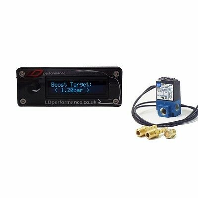 LDperformance Electronic Boost Controller EBC + MAC 3 port Solenoid