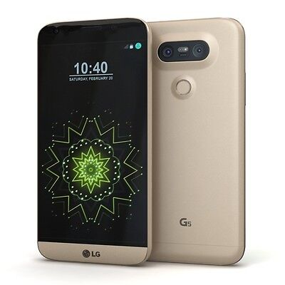 LG G5 H820 (Latest Ideal) - 32GB - Gold (AT&T) Smartphone Unlocked Any GSM