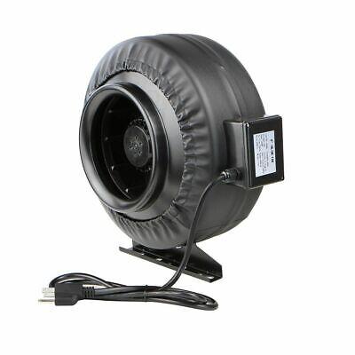 """8"""" Inch Inline Fan Hydroponics Exhaust Fan Duct Cooling Fan"""