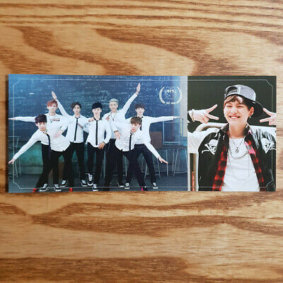 Suga Official Photocard BTS 2nd Mini Album Skool Luv Affair Kpop Genuine