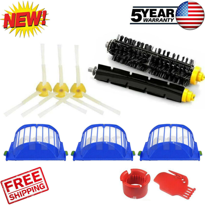 For iRobot Roomba Accessories 600 Series 675 690 670 671 Replacement Parts Kit