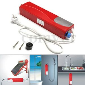 Portable water heater ebay for Bathroom heaters builders warehouse