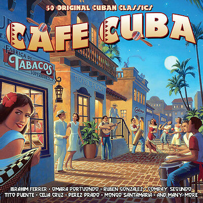 Cafe Cuba VARIOUS ARTISTS Best Of 50 Classic Cuban Recordings MUSIC New 2
