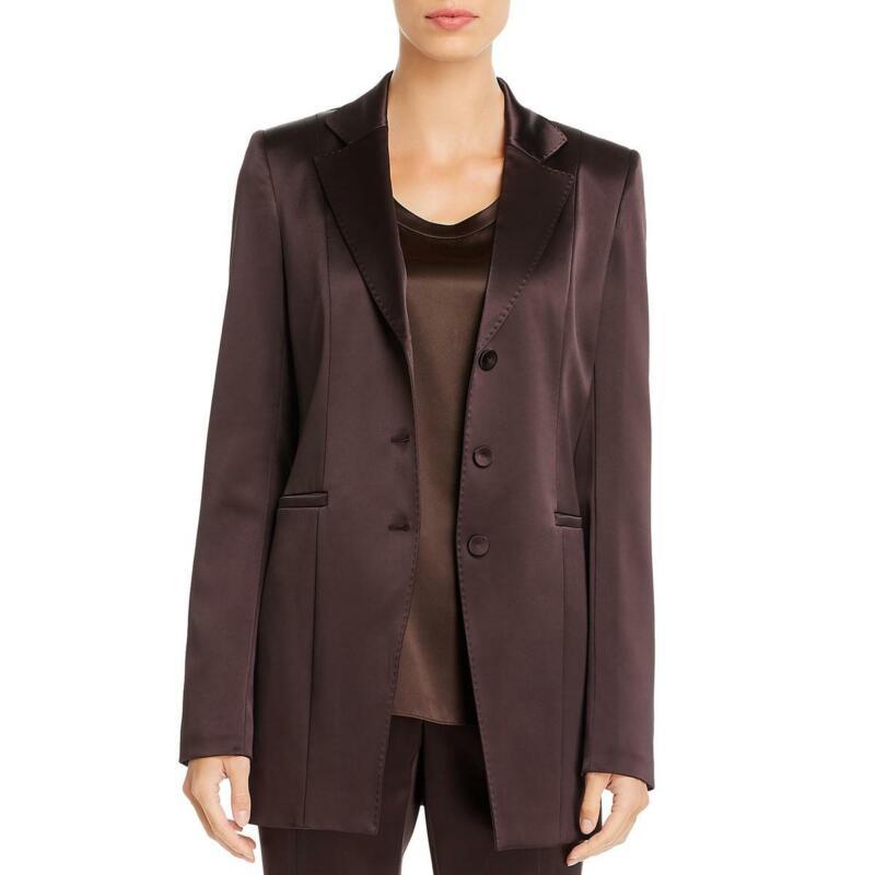 Lafayette 148 New York Womens Jaqueline Three-Button Blazer Jacket BHFO 6137
