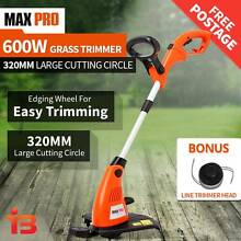 Max Pro Electric Whipper Snipper Brush Cutter Lawn Grass Trimmer Fairfield East Fairfield Area Preview