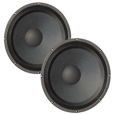 "Pair Eminence Kappa-15C 15"" Driver 4 ohm 100.5dB 3"" Coil Replacement Speaker"