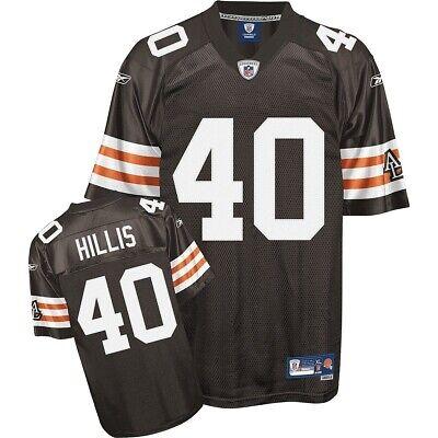 NFL Trikot CLEVELAND BROWNS Peyton Hillis 40 Football Jersey Premier braun