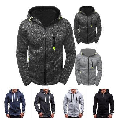 Men Plus Size Hoodies Sudaderas Hip Hop Brand Leisure Zipper Jacket Outwear Coat - Plus Size Men