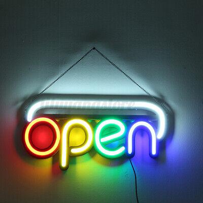 OPEN Neon Sign Light Beer Bar Pub Party Shop Room Wall Decor