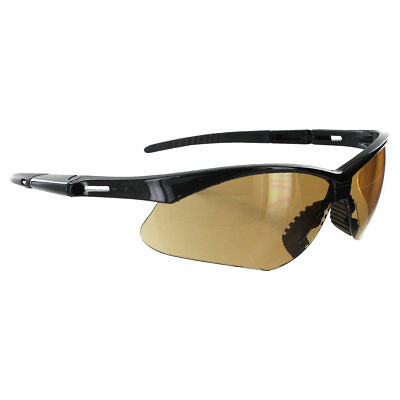 Rugged Blue Mojave Safety Glasses - Amber