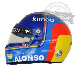 Fernando Alonso 2018 F1 Replica Helmet Full Scale 1:1 Formula 1 Casco Casque NEW