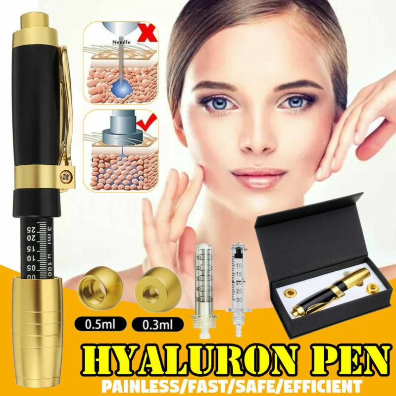 Hyaluron Pen 2 in 1 Two Head 0.3ml &0.5ml Hyaluronic Acid Lip Filler Needle Free