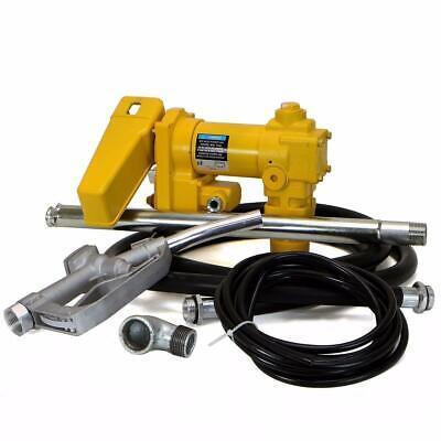 Fuelworks 12v 20gpm Gasoline Fuel Transfer Pump Gas Diesel Kerosene With Manual