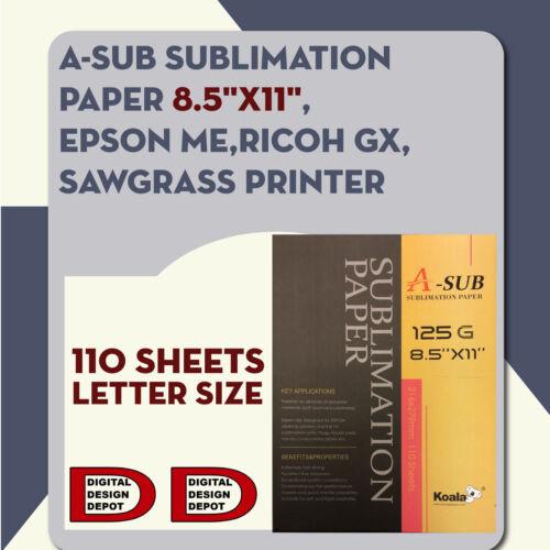 Sublimation Paper A-SUB  8.5