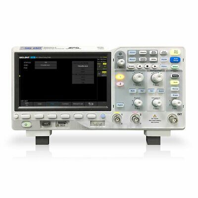 Siglent Sds2202x-e Super Phosphor Oscilloscope 200 Mhz 2 Gsas 400000 Wfmssec