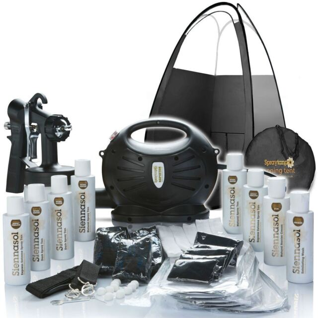 Rapidtan Professional Airbrush Spray Tan Kit - Machine, Tanning Tent & Tan ❤