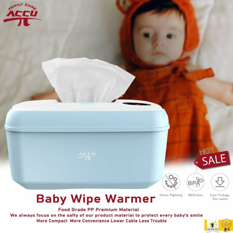 Baby Wipe Warmer Holder Wet Wipes Heater Dispenser Tissue Box Case USB Charging