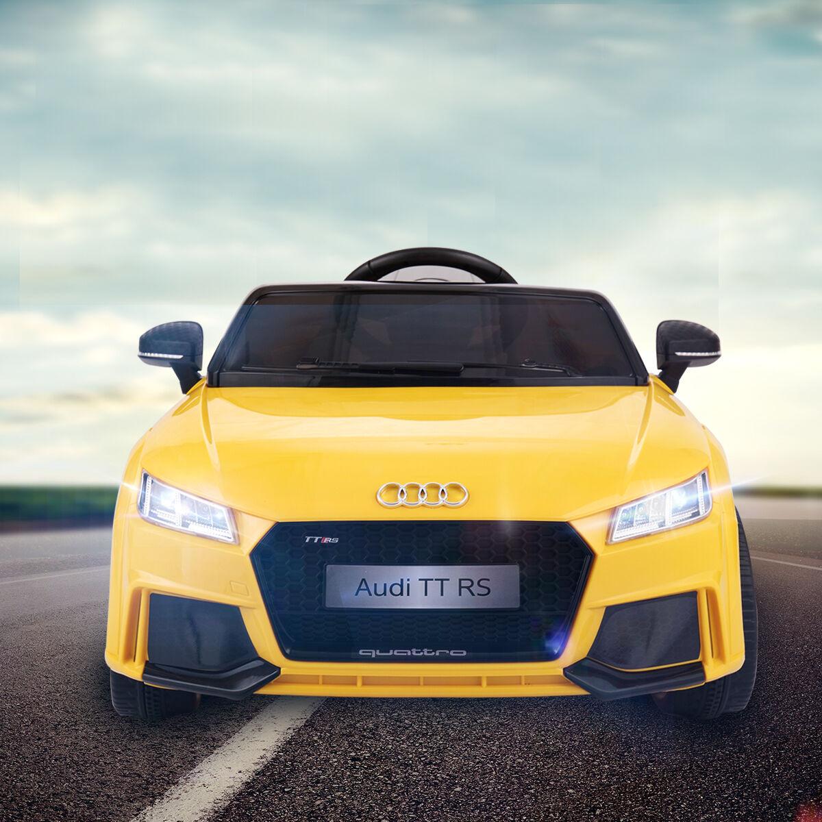 Audi TT RS Electric Kids Ride Cars MP3 LED Lights Remote Power Wheels 12 Volt