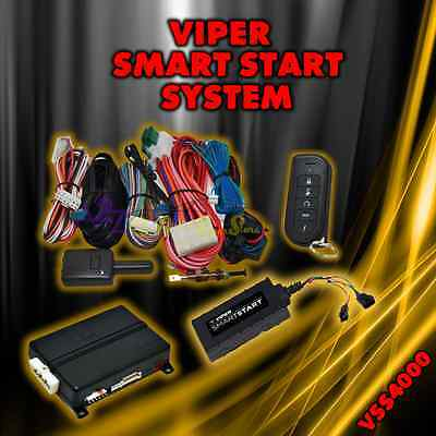 VIPER SMART START REMOTE START KEYLESS ENTRY FOR IPHONE ANDROID VSS4000 VIPER