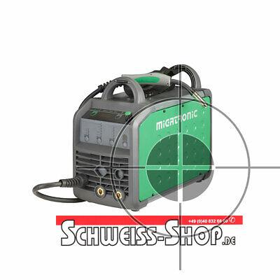 WIG MIG//MAG Elektrode Schutzgas Schweißgerät TELWIN TECHNOMIG 215 DUAL im SET 3