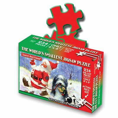 Worlds Smallest puzzle - Christmas theme